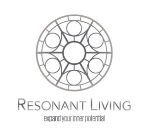 Silver Resonant Living (RL) with slogan